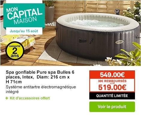 piscine et spa jardin leroy merlin. Black Bedroom Furniture Sets. Home Design Ideas