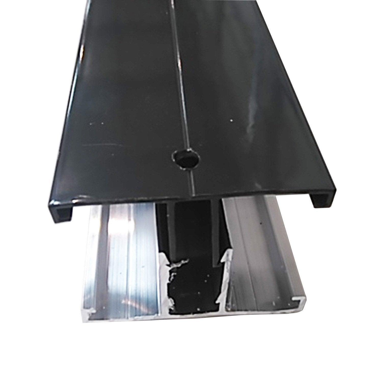 Profil Jonction Pour Plaque Ep 16 32 Mm Gris Ral 7016 L 3 M