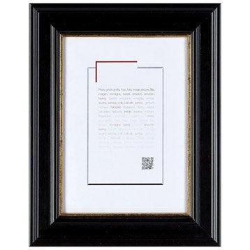 Cadre Gaïa, 24 x 30 cm, noir