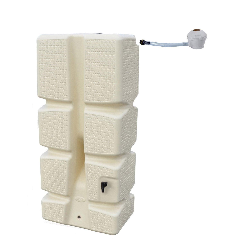 r cup rateur d 39 eau et collecteur a rien eda rectangulaire murale sable 310 l leroy merlin. Black Bedroom Furniture Sets. Home Design Ideas