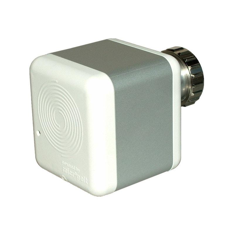 Tête De Robinet Thermostatique Connecté Carrée Femelle Blanc