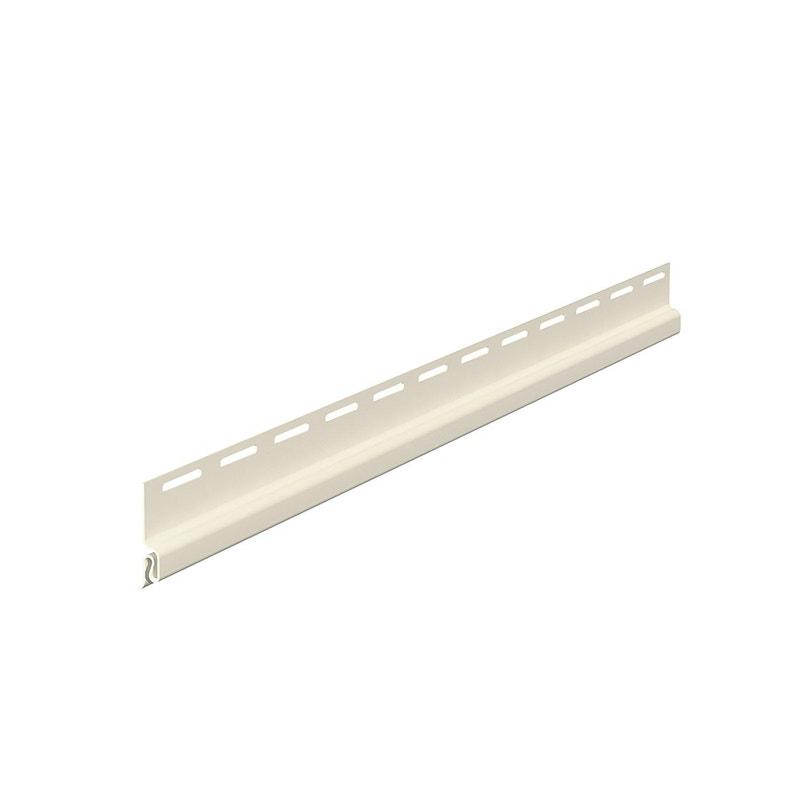 Profil De Départ Pvc 65 X 13 Freefoam Flex Blanc 395 M
