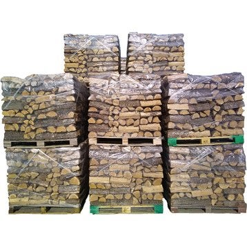 Bois de chauffage granul s pellets et b ches calorifique au meilleur prix leroy merlin - Copeaux de bois prix au m3 ...