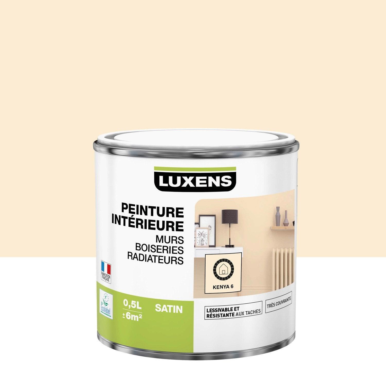 Peinture kenya 6 satin LUXENS 0.5 l