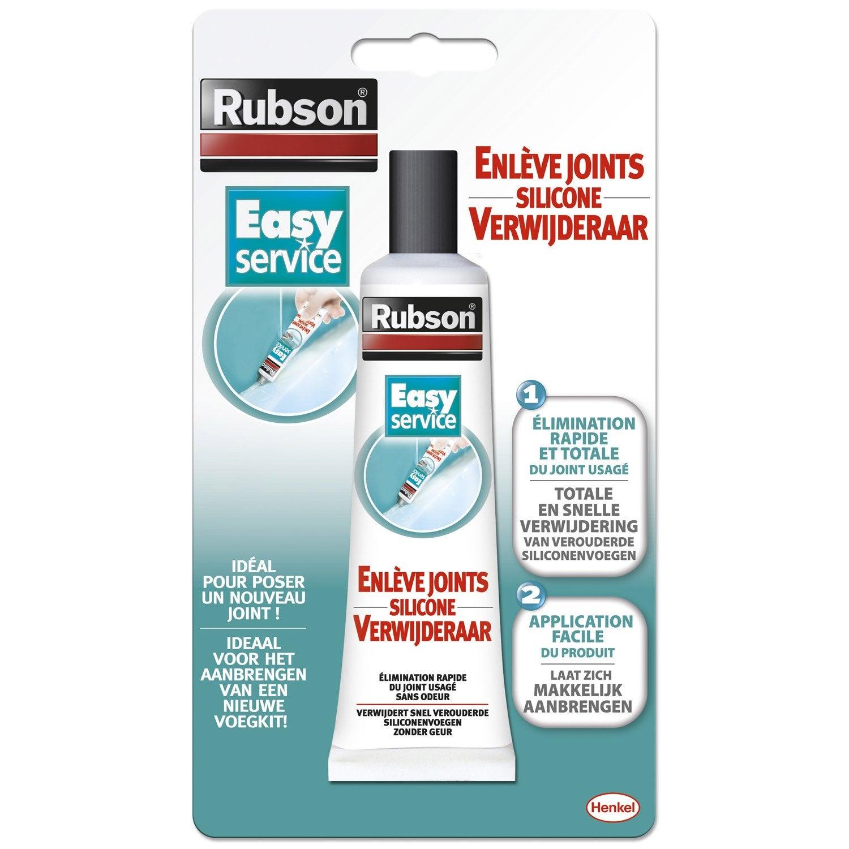 tube enlève-joint pour mastic rubson easy 80 ml | leroy merlin - Joint Salle De Bain Leroy Merlin