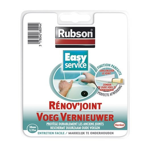 couvre-joint pour mastic rubson easy | leroy merlin - Rubson Joint Salle De Bain