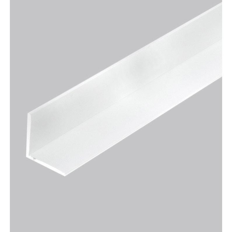 Cornière Pvc Blanc 100 X 100 Mm L26 M