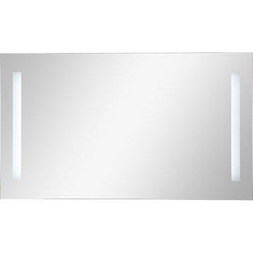Miroir lumineux de salle de bains miroir de salle de for Eclairage miroir salle de bain castorama