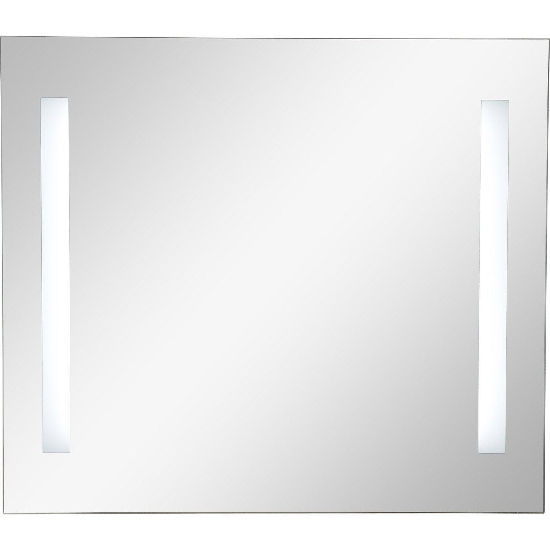 Miroir Lumineux Eclairage Integre L 80 X H 70 Cm Sensea Ayo