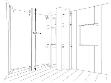 comment construire une cabane dans le salon leroy merlin. Black Bedroom Furniture Sets. Home Design Ideas