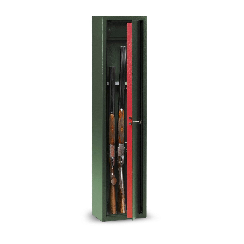 Armoire Fusils à Clé 5 Fusils Technomax Lmk5 H138 X L315 X P22 Cm