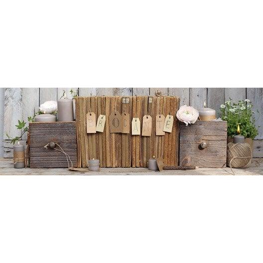 toile led livres x cm leroy merlin. Black Bedroom Furniture Sets. Home Design Ideas