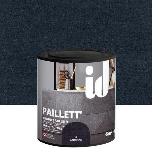 Papier peint paillet leroy merlin perfect diy relooking - Castorama peinture pour meuble ...
