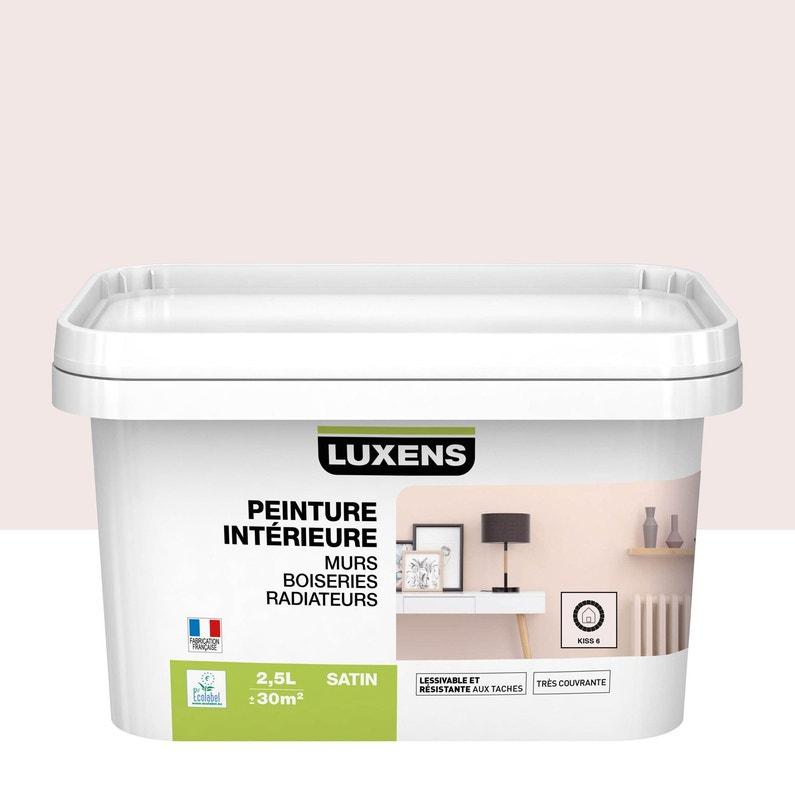 Peinture Mur Boiserie Radiateur Toutes Pièces Multisupports Luxens Kiss 6 Sa