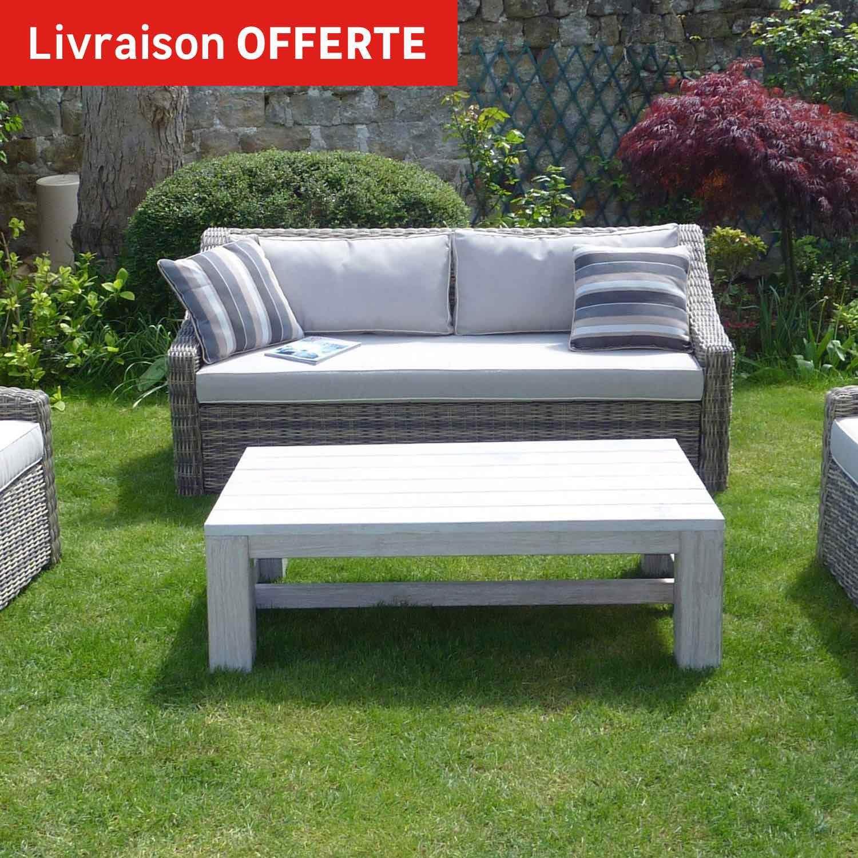 Salon bas de jardin resine tressee chaise resine tressee for Salon de jardin bas resine