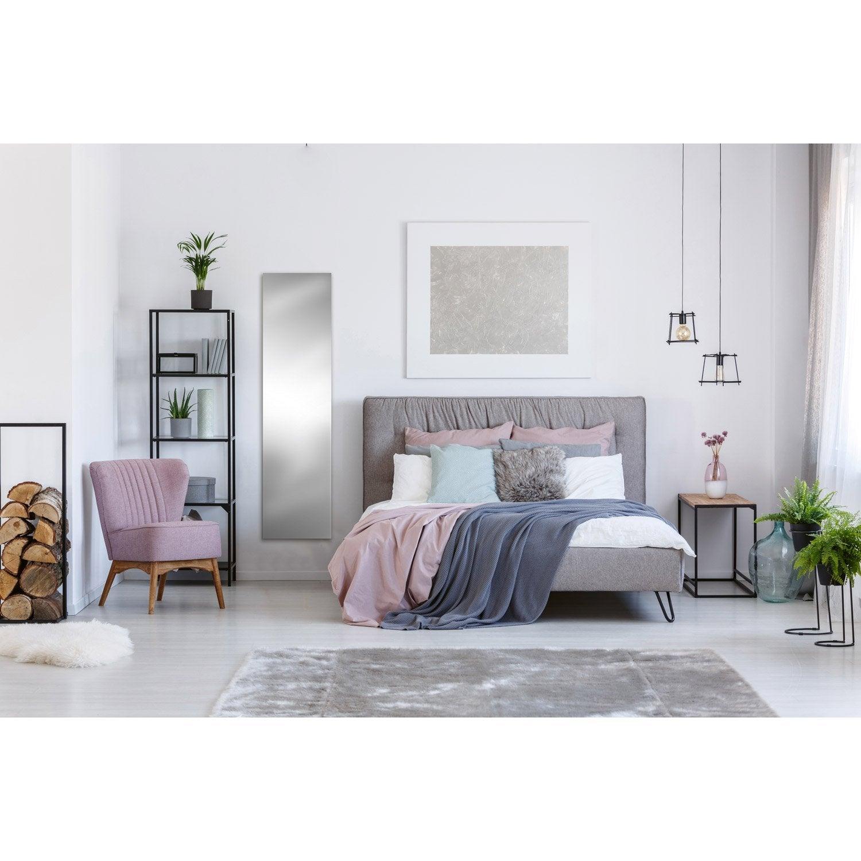 radiateur lectrique rayonnement decowatt miroir 1000 w. Black Bedroom Furniture Sets. Home Design Ideas