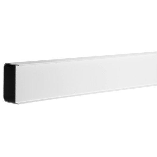 Profil de douche block lock blanc 2.5 m