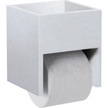 Rangement pour papier toilette nath o - Meuble rangement papier toilette ...