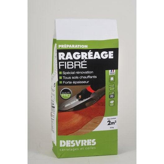 Ragr age fibr int rieur desvres 10 kg leroy merlin - Ragreage fibre autolissant ...