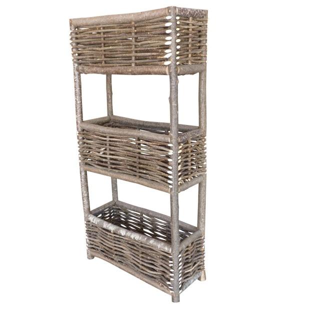 d corer le balcon avec des jardini res en osier leroy merlin. Black Bedroom Furniture Sets. Home Design Ideas