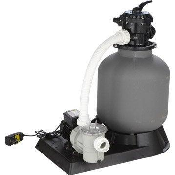 Kit de filtration à sable UBBINK 4 m3/h vanne top 4 m³/h
