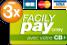 3xCB FacilyPay avec Carte bleue, Visa et Mastercard