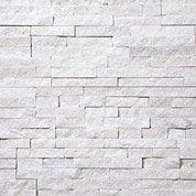 Plaquette de parement Petra en pierre naturelle, blanc