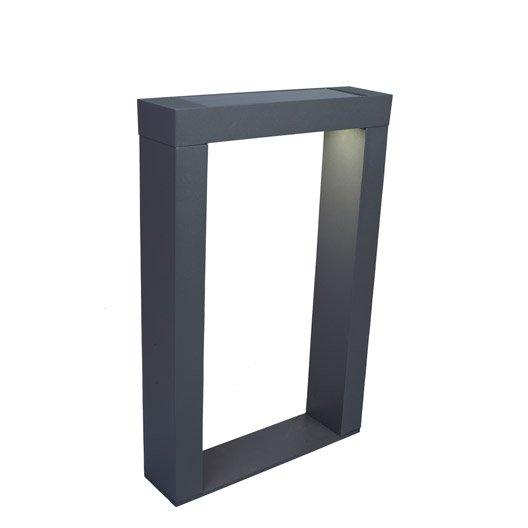 borne solaire ipanena 300 lm noir inspire leroy merlin. Black Bedroom Furniture Sets. Home Design Ideas
