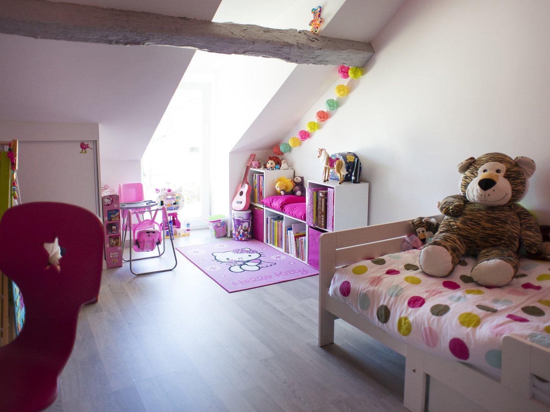 Aménager une chambre de fille sous les combles | Leroy Merlin