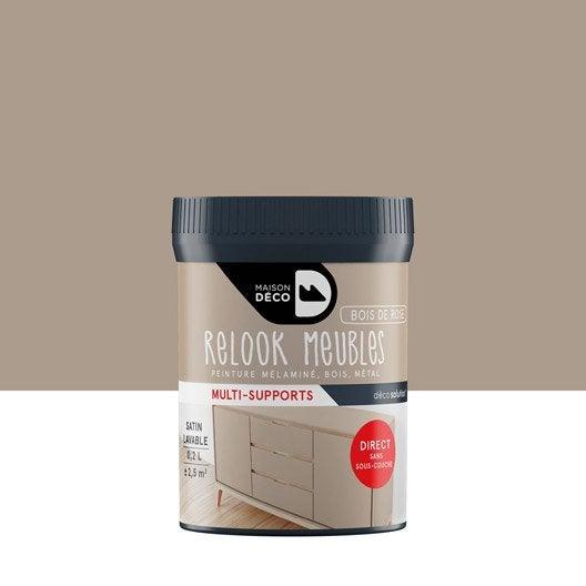 peinture pour meuble objet et porte satin maison deco bois de rose 0 2 leroy merlin. Black Bedroom Furniture Sets. Home Design Ideas