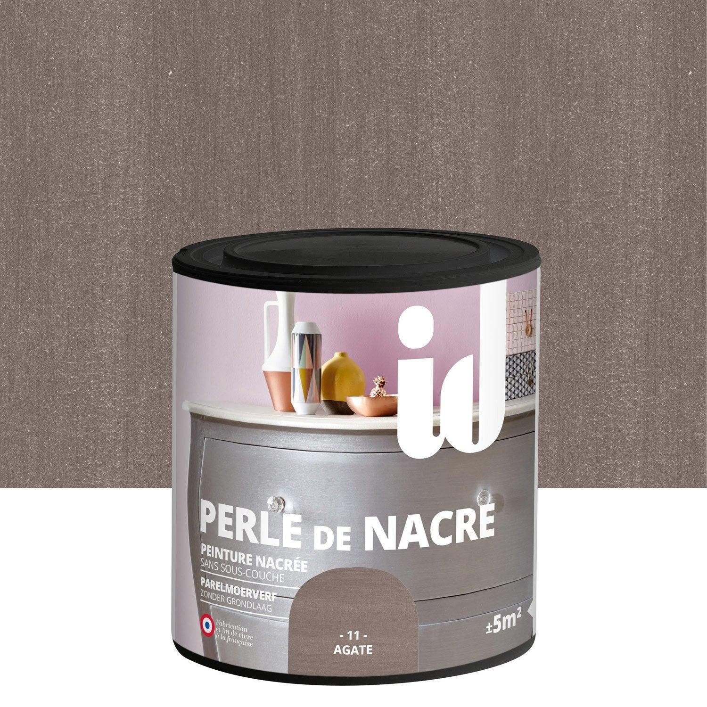 Peinture pour meuble objet et porte nacr id perle de - Peinture murale effet nacre ...