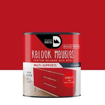 Finition meuble et objet peinture vernis cire huile for Objet deco rouge pour salon