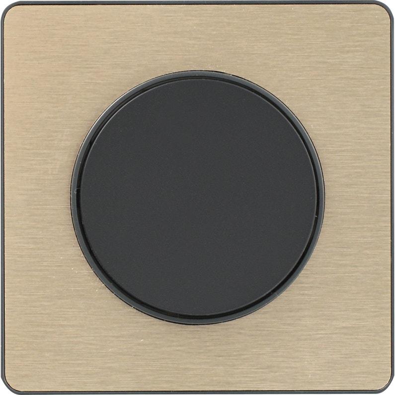 Interrupteur Va Et Vient Odace Bronze Broséé Schneider Electric