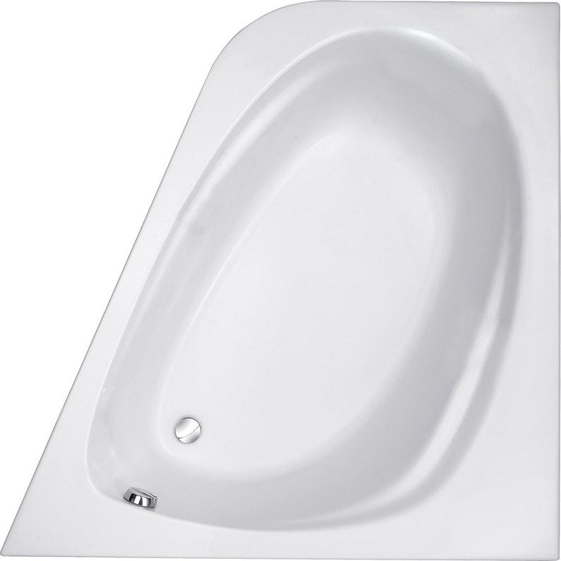 Baignoire D Angle L 140x L 140 Cm Blanc Jacob Delafon Sofa
