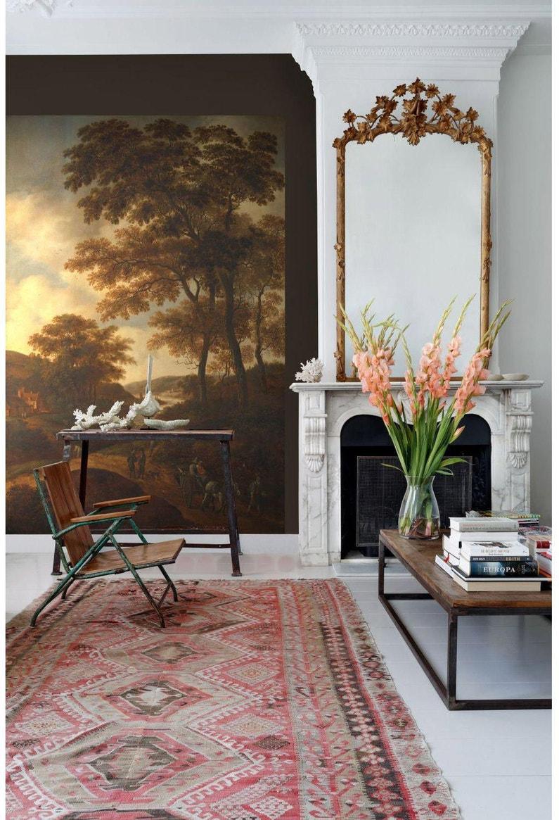 Papier Peint Panoramique Paysage papier peint panoramique photowalls paysage boisé intissé esta l.186 x  h.279 cm