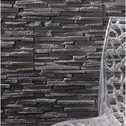 Plaquette de parement Bologna en béton allégé, anthracite