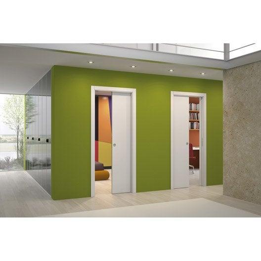 syst me galandage unilat ral eclisse pour porte de largeur 2 x 83 cm leroy merlin. Black Bedroom Furniture Sets. Home Design Ideas