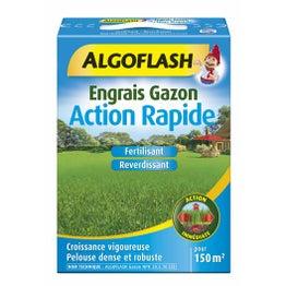 Engrais gazon ALGOFLASH 3 kg, 150 m²