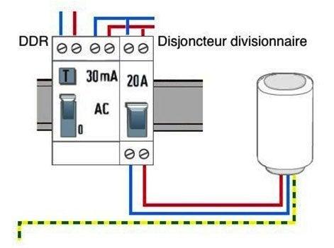 Les principes de fonctionnement d 39 un contacteur heures creuses leroy merlin - Disjoncteur ballon eau chaude ...