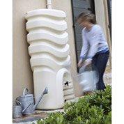 Récupérateur d'eau et collecteur aérien EDA rectangulaire beige , 550 l