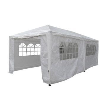 Tonnelle pergola toiture de terrasse au meilleur prix for Carpas de jardin leroy merlin