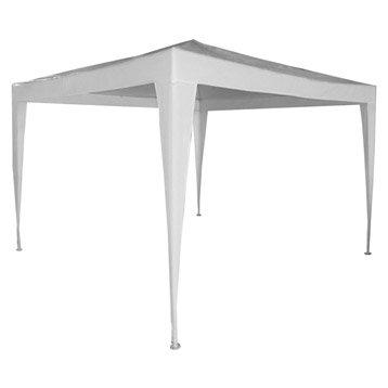Tente de réception autoportante paris, acier blanche, 9 m²