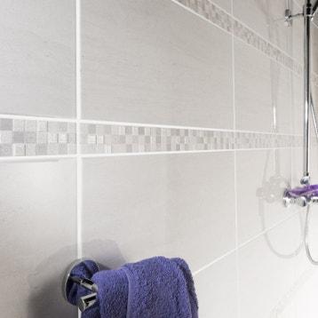 faence mur blanc verone l25 x l50 cm