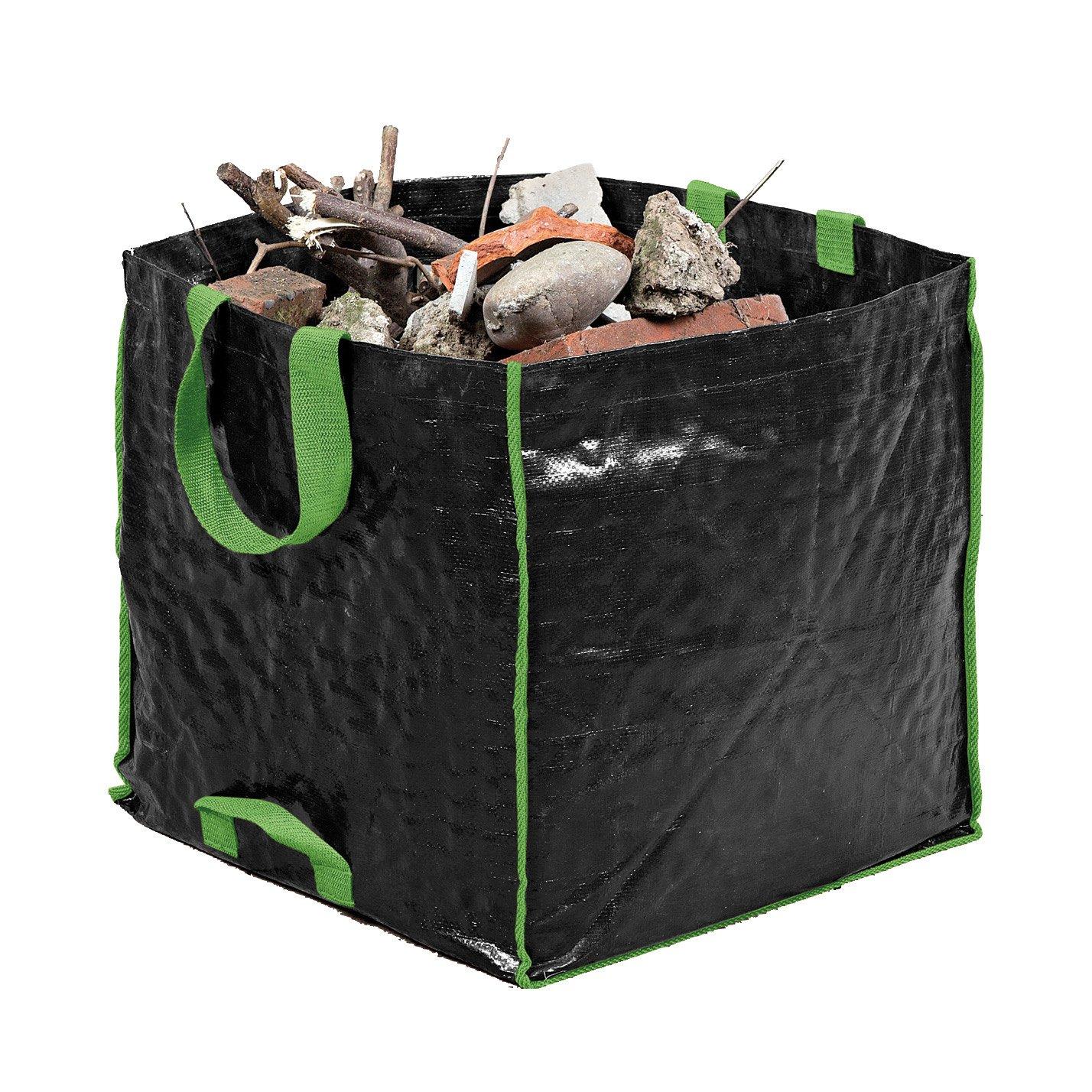 sac gravats et bois de jardin geolia 70 l leroy merlin. Black Bedroom Furniture Sets. Home Design Ideas