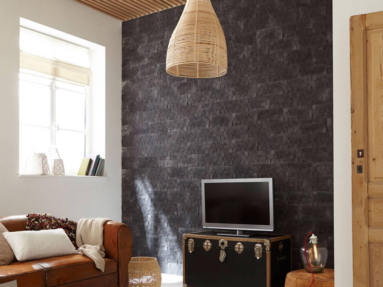 Idee Deco Pierre De Parement Interieur plaquettes de parement au mur : idées déco | leroy merlin