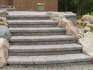 Créer un escalier extérieur en pierre