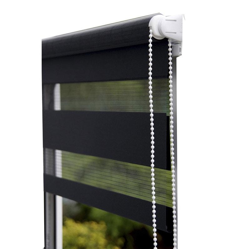 Store Enrouleur Jour Nuit Inspire Noir Noir N 0 46 X 160 Cm