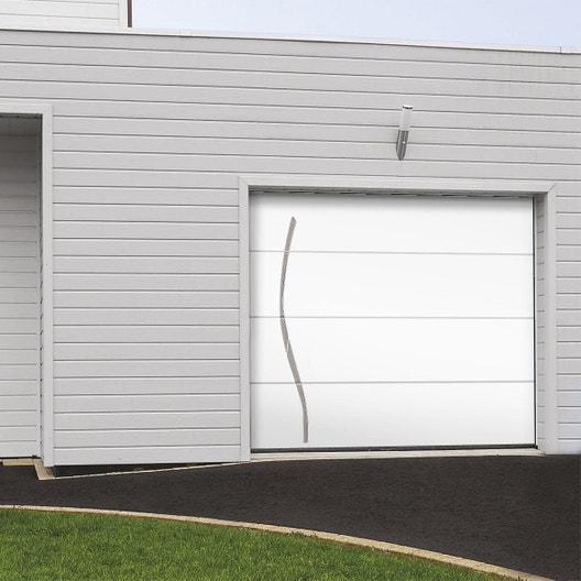 Porte de garage sectionnelle indis motoris e x for Porte de garage dimensions tableau