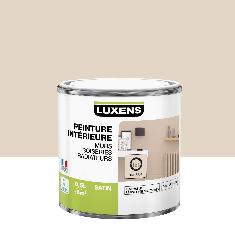 Peinture mur, boiserie, radiateur toutes pièces Multisupports LUXENS, terra 6, s