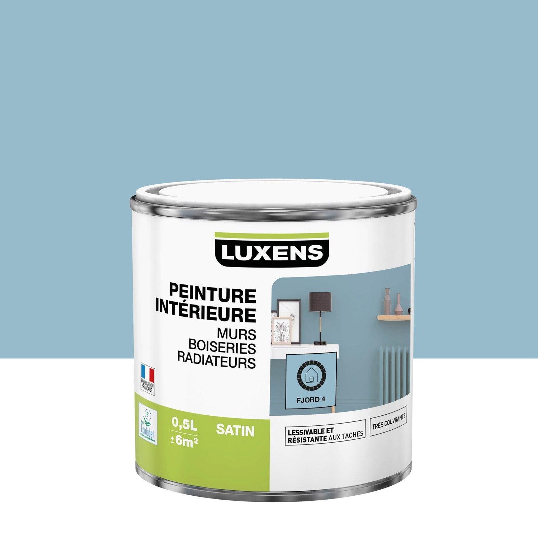 Peinture mur, boiserie, radiateur toutes pièces Multisupports LUXENS, fjord 4, s